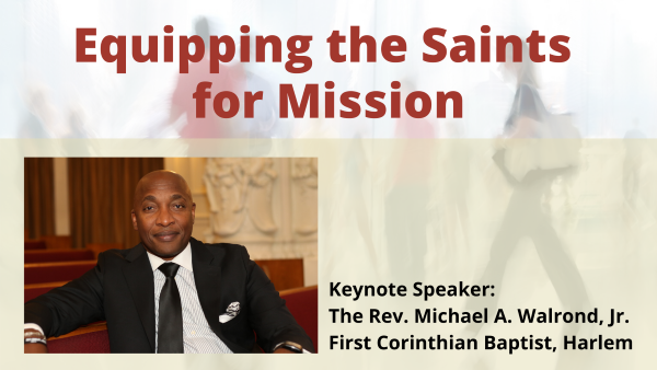 Equipping the Saints for Mission Conference 2020