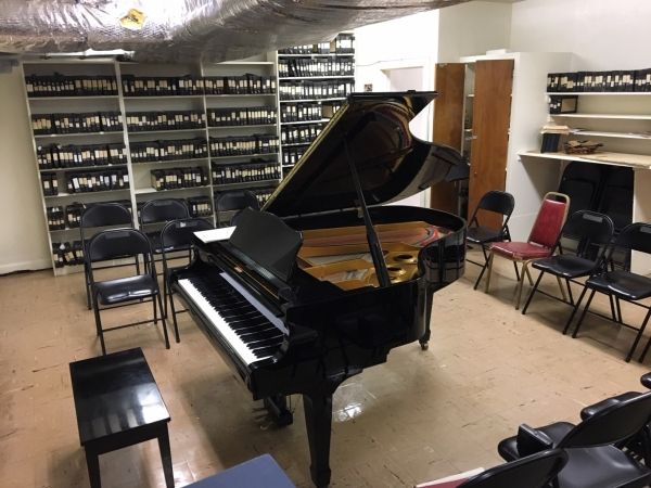 A New Piano For the Choir Room